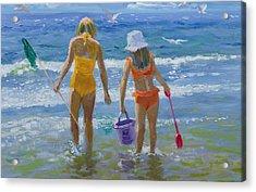 Gone Fishing  Acrylic Print by William Ireland