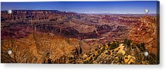 Grand Canyon Panorama Acrylic Print by Andrew Soundarajan