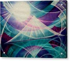 Harmony Acrylic Print by Kumiko Mayer