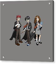 Harry Potter Acrylic Print by Rosie Jasmine