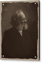 Henrik Ibsen Acrylic Print by Afterdarkness