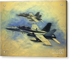 Hornets Acrylic Print by Stephen Roberson