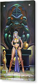 Isis And Osiris Acrylic Print by Patrick Anthony Pierson