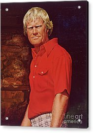 The Golden Bear Acrylic Print by David Kilmer