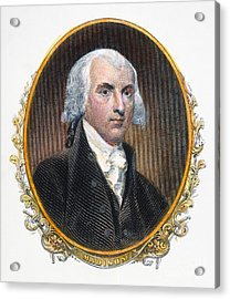 James Madison (1751-1836) Acrylic Print by Granger