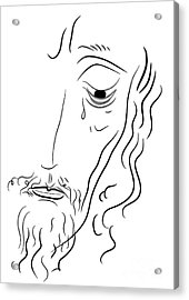 Jesus Christ Acrylic Print by Michal Boubin