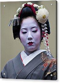 Jidai Matsuri  Festival  Acrylic Print by Kobby Dagan