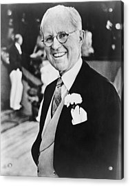 Joseph P. Kennedy 1888-1969 Acrylic Print by Everett
