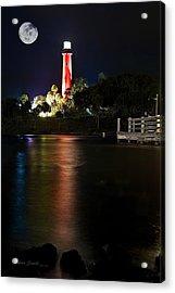 Jupiter Lighthouse Acrylic Print by Robert Smith