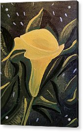 Kalla's Lily Acrylic Print by Diann Blevins