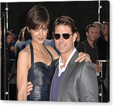 Katie Holmes Wearing A Holmes Yang Acrylic Print by Everett