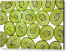 Kiwifruit Acrylic Print by Nailia Schwarz