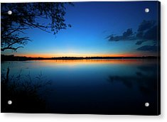 The Serenity Of Lake Harriet Acrylic Print by Senthil Subramanian