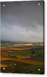 Landscape Near Torre Alhaquime, Cadiz Acrylic Print by Panoramic Images