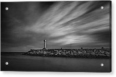 Lighthouse Acrylic Print by Stelios Kleanthous