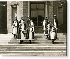 Lincoln School For Nurses Acrylic Print by Underwood Archives