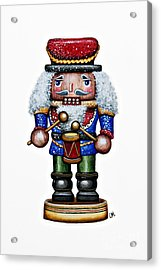 Little Drummer Boy Acrylic Print by Christina Meeusen