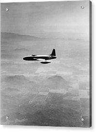 Lockheed P-80 Shooting Star Acrylic Print by Underwood Archives