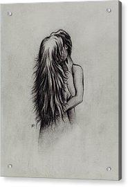 Lovers Acrylic Print by Rachel Christine Nowicki