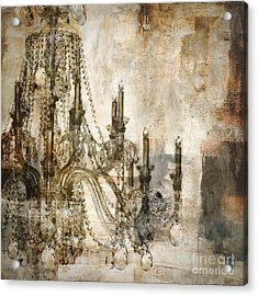 Lumieres Acrylic Print by Mindy Sommers