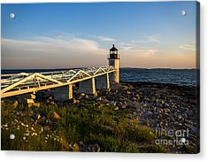 Marshall Point Lighthouse Acrylic Print by Diane Diederich