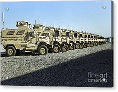 Maxxpro Mine Resistant Ambush Protected Acrylic Print by Stocktrek Images