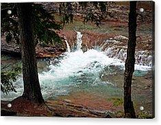 Mcdonald Creek  Acrylic Print by Marty Koch