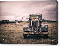 Memories Of Roads Traveled Acrylic Print by Mountain Dreams