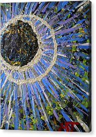 Midnight Transit Planet Acrylic Print by Dylan Chambers
