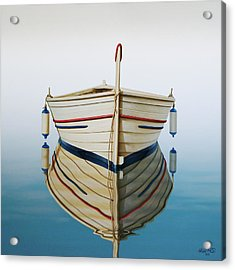 Morning Sun On Prow Acrylic Print by Horacio Cardozo