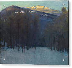Mount Monadnock Acrylic Print by Abbott Handerson Thayer