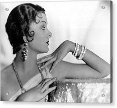 Myrna Loy, Fox, 1931 Acrylic Print by Everett