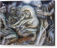 Neglect Acrylic Print by David Frantz