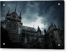 Notre Dame De Paris Acrylic Print by Cambion Art