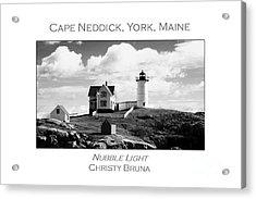 Nubble Light Acrylic Print by Christy Bruna