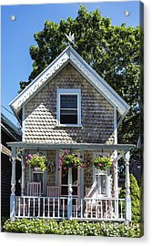 Oak Bluffs Cottage Acrylic Print by John Greim
