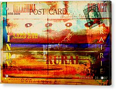 Oklahoma  Acrylic Print by Toni Hopper