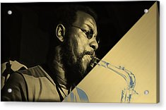 Ornette Coleman Collection Acrylic Print by Marvin Blaine