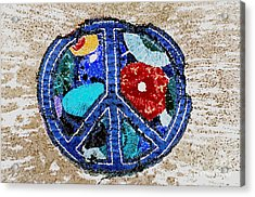 Peace  Acrylic Print by Juls Adams
