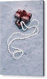 Pearl Necklace Acrylic Print by Joana Kruse