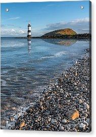 Penmon Point Lighthouse Acrylic Print by Adrian Evans