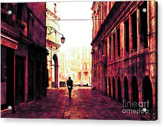 Perdition Acrylic Print by John Rizzuto