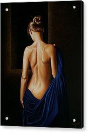 Perpetual Blue Acrylic Print by Horacio Cardozo