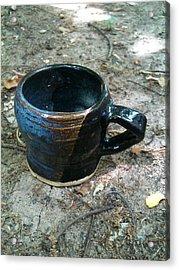 Petite Tea Cup Acrylic Print by Emily Osborne