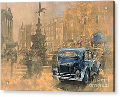 Phantom In Piccadilly  Acrylic Print by Peter Miller