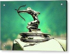 Pierce Arrow Mascot Acrylic Print by Duschan Tomic