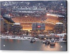 Pittsburgh 4 Acrylic Print by Emmanuel Panagiotakis