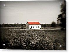 Plantation Church Acrylic Print by Scott Pellegrin
