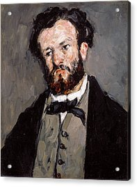 Portrait Of Anthony Valabregue Acrylic Print by Paul Cezanne