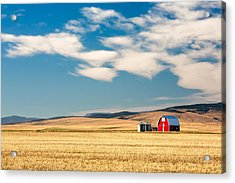 Prairie Red Acrylic Print by Todd Klassy